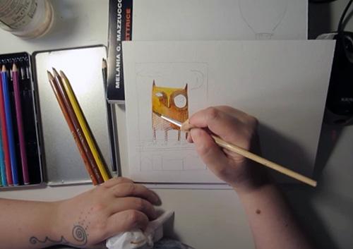 Tutorial Matite Colorate Acquerellabili Disegnare Un Gatto Passo Passo Con Video E Immagini Frannythiery Com